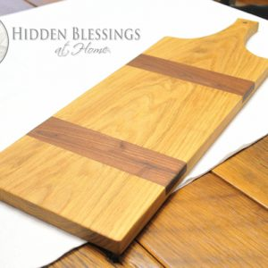 Wood Bread/Cheese Serving Board