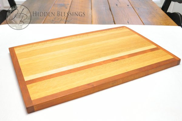 Wood Cutting Board Large Cherry