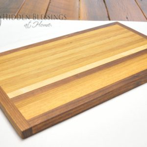 Wood Cutting Board Large Walnut
