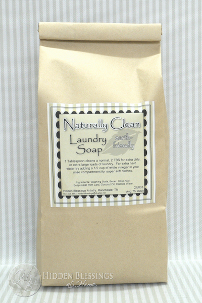 Naturally Clean Laundry Soap