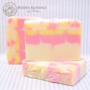 Butterfly Orchid Handmade Soap