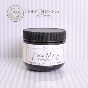 Face Mask Exfoliating Rose Clay