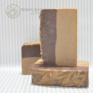 Chocolate Amber Handmade Soap