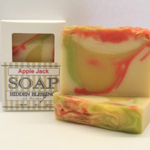 Handmade Soap Apple Jack