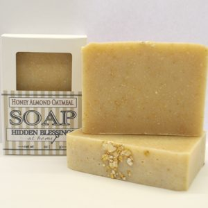 Handmade Soap Honey Almond Oatmeal