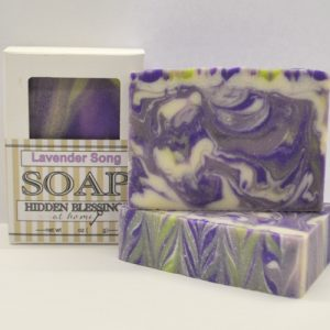 Handmade Soap Lavender Song