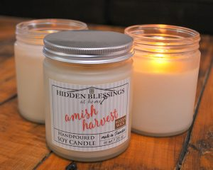 Soy Candle Frosted Glass Jar