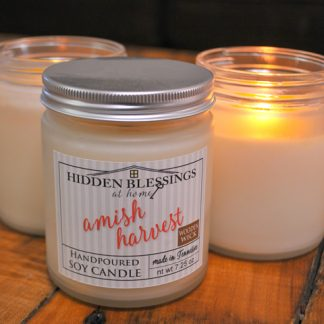 Candles 8oz Soy Wax in Frosted Glass Jar